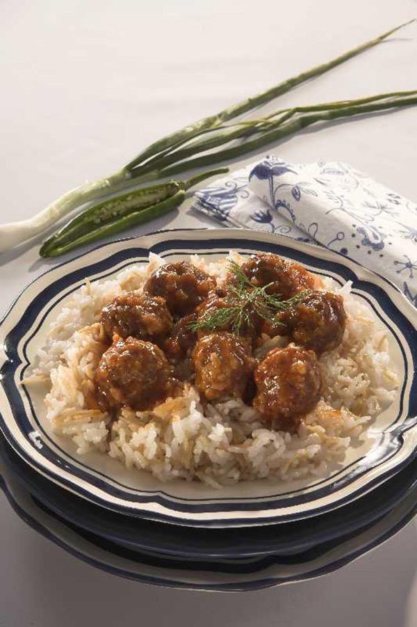 طريقة تحضير كفتة اللحم بالأرز