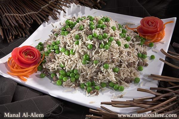 طريقة تحضير كبسة الأرز باللحم