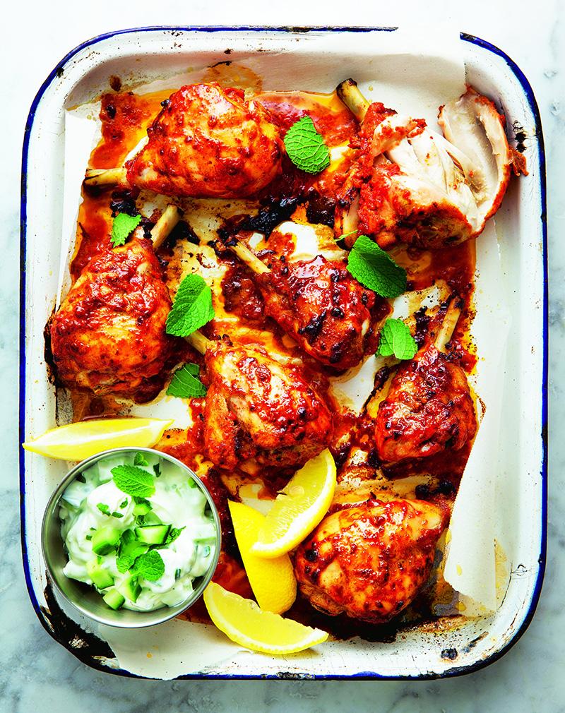 طريقة تحضير تندوري الدجاج صلصة
