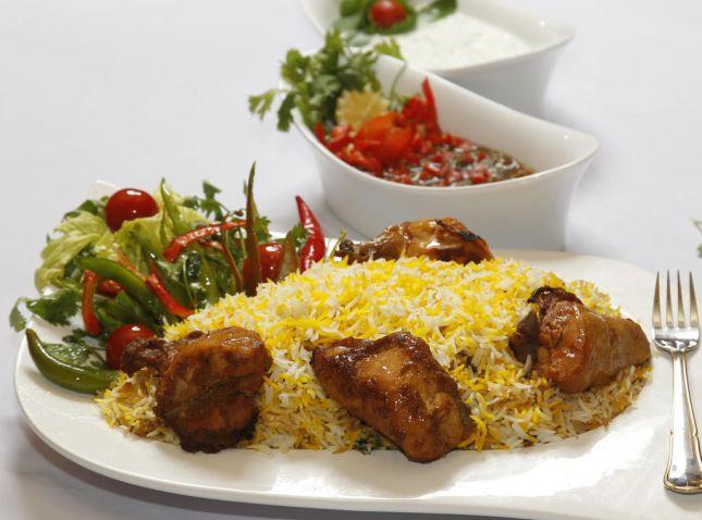 طريقة تحضير الرز البرياني الشيف