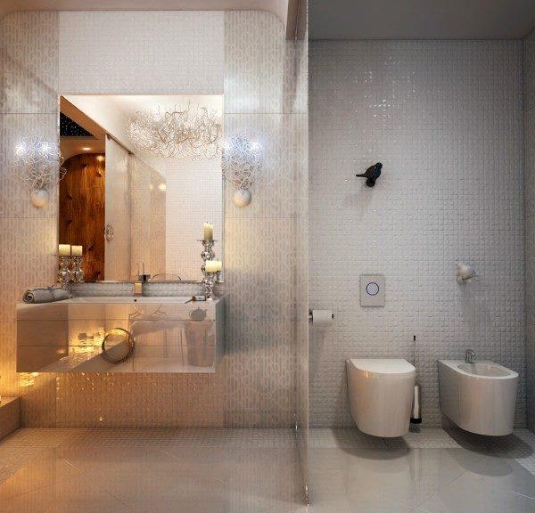 ديككورات حمامات فخمة راقية