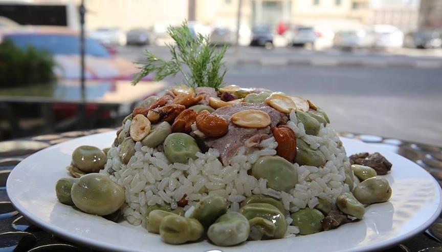 طريقة تحضير الأرز بالفول السوري