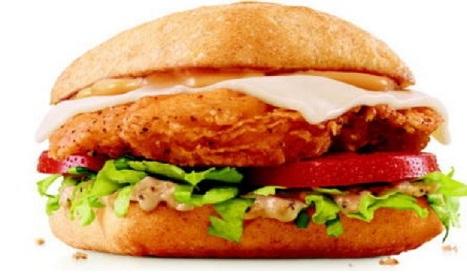 طريقة تحضير ساندويش دجاج سريع