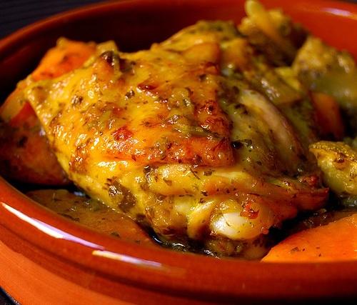 طريقة تحضير دجاج بالفخارة سريع