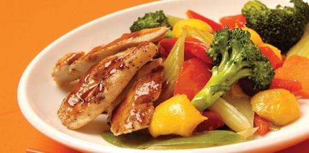 طريقة تحضير الدجاج الصيني بالخضراوات