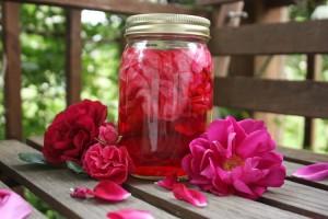 طريقة تحضير شراب الورد الجوري