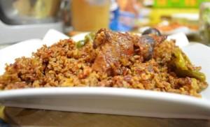 طريقة تحضير الرز الحساوي بالدجاج