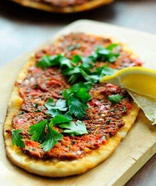 طريقة تحضير البيتزا التركية سهله