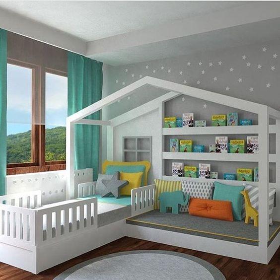 أفكار سراير اطفال للمساحات الصغيرة