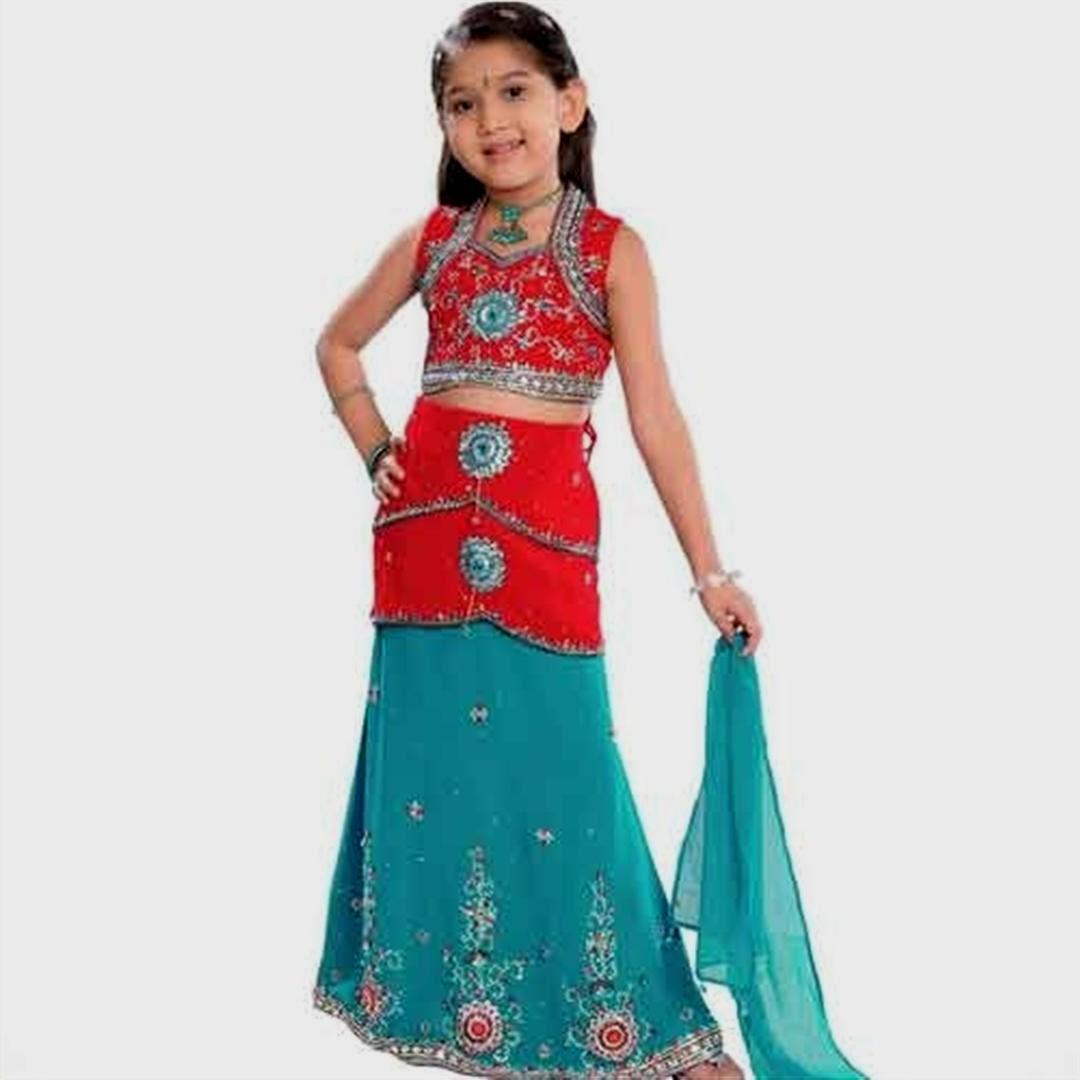 احدث ساريات هندية للاطفال للبنات