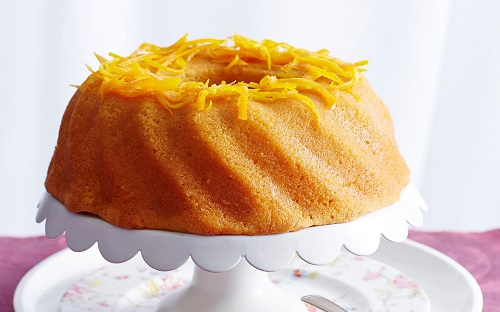 طريقة تحضير كيكة البرتقال غادة
