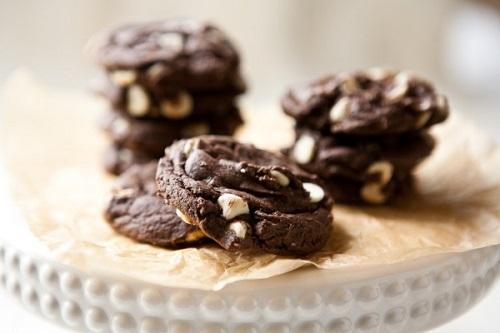 طريقة تحضير كوكيز بالشوكولاتة البيضاء