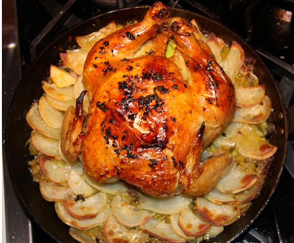 طريقة تحضير صينية دجاج بالبطاطس
