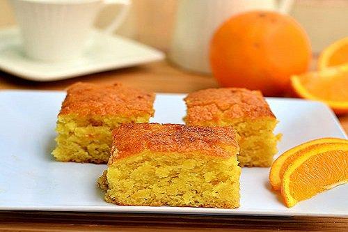 طريقة تحضير كيكة البرتقال بدون