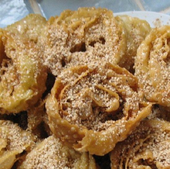طريقة تحضير طاسة حلوى مغربي