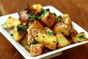 طريقة تحضير البطاطا الحرة الكزبرة