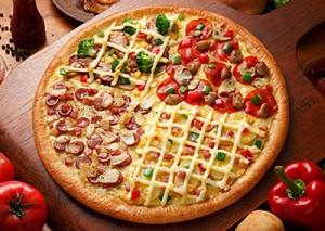 بيتزا كواترو تشيز طريقة منال