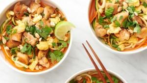 الدجاج الخضار وصفة تايلندية منال