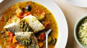 شوربة السمك المغربية منال العالم