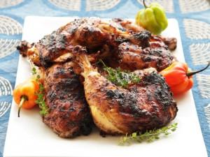 دجاج مشوي بالزنجبيل الثوم منال