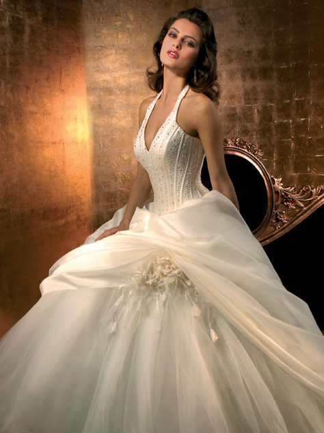 فساتين الزواج احلى الفساتين للزواج
