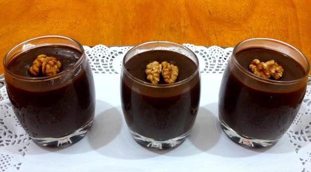 ياغورت الشوكولاتة الطريقة المغربية