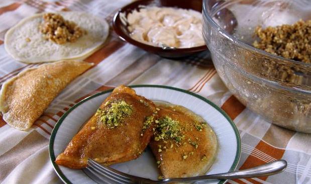 القطايف الشامية منال العالم رمضان