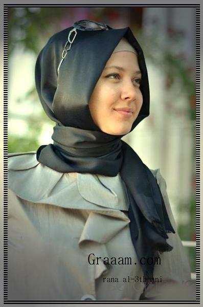 احدث صيحات الحجاب التركي الحديث