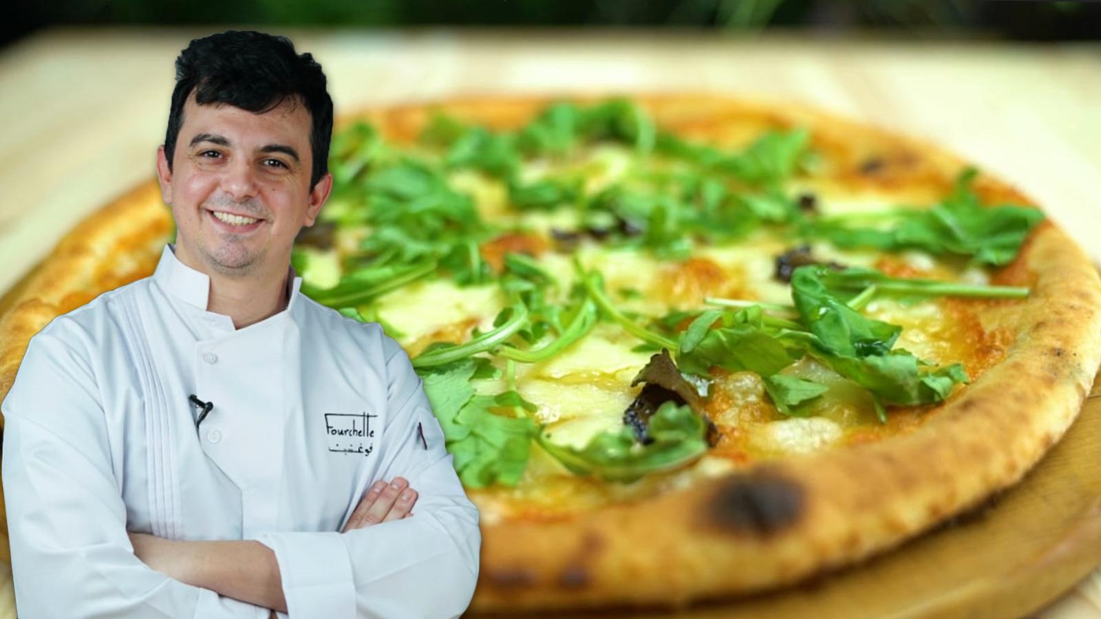 بيتزا الترفل الايطالية منال العالم