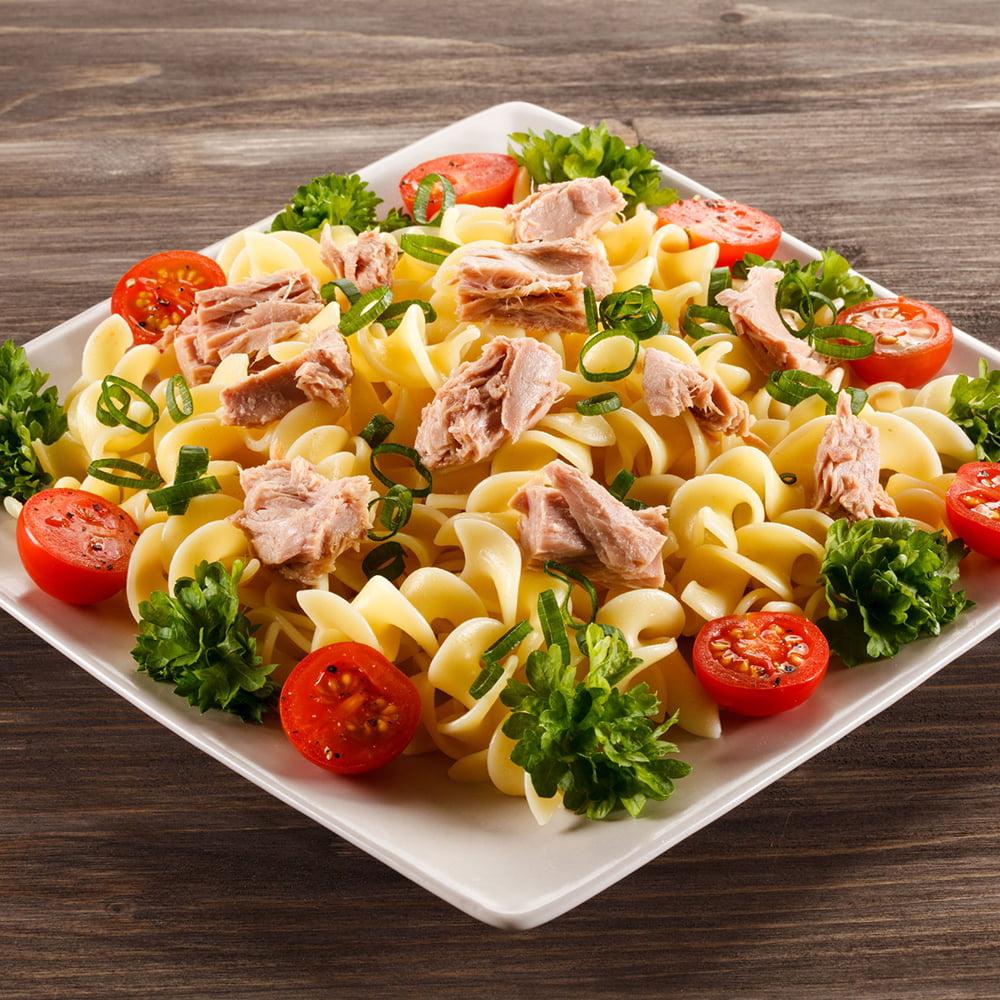 طبخات رجيم مكرونة بالتونة منال