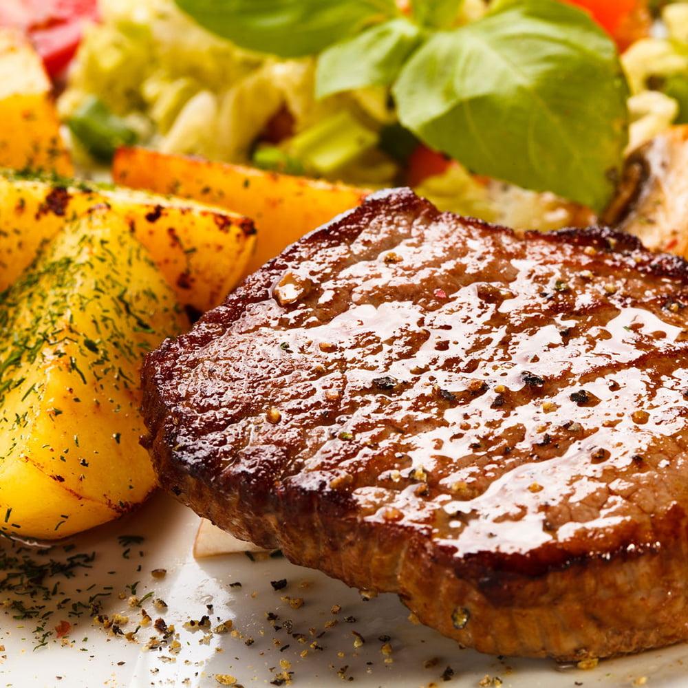 البطاطس اللحم المشوي منال العالم