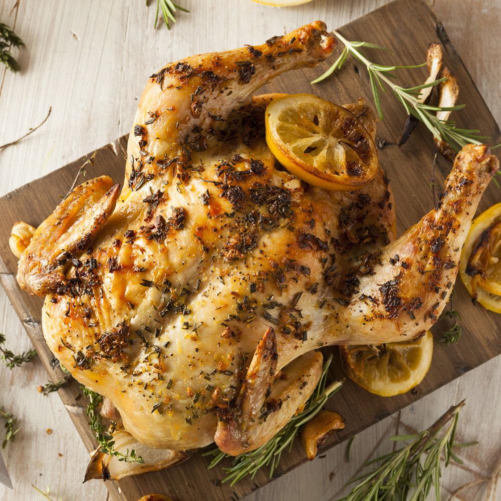 الدجاج بالزعتر الليمون دايت للريجيم