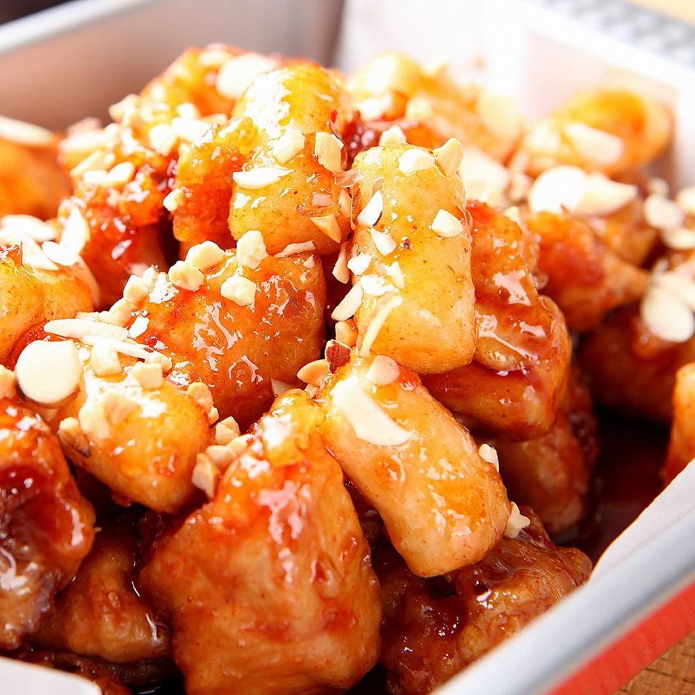 الدجاج بزيت اللوز الصيني منال