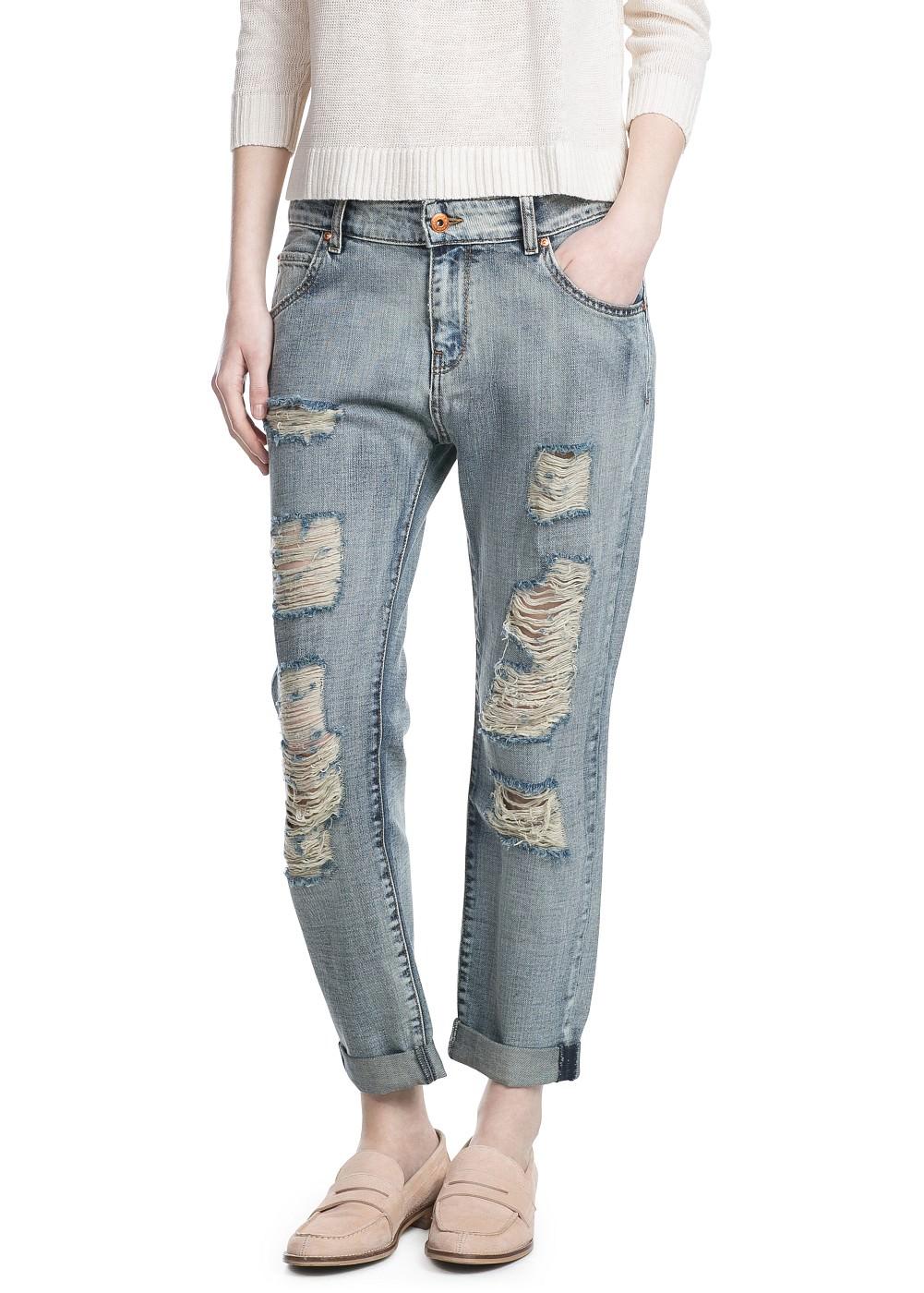 جينزات ماركة مانجو