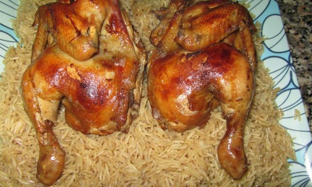 مندي الدجاج بالفحم